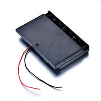 1Pc 8x AA Battery 12V Storage Holder Batteries Box Case w/ ON-OFF Switch