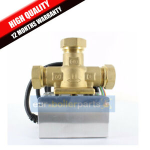 Central Heating  3 port 22mm Mid-Position Valve ,Replacement for V4073A1039 NEW
