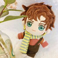 JoJo's Bizarre Adventure Joseph Joestar Plush Doll DIY Dress Up Soft Toys 20cm