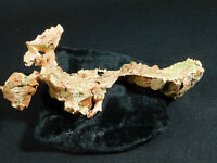 A Huge! 100% Natural Native COPPER Nugget or Copper Float From Michigan! 335gr