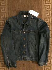 Armani Exchange Men Classic Denim Jacket Top Blue Size M / 42