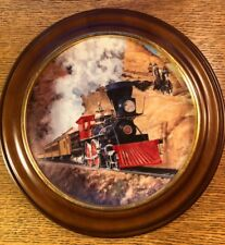 """Hamilton Train Plate Collection """"Confrontation"""" Limited Plate Nr. 0814A"""