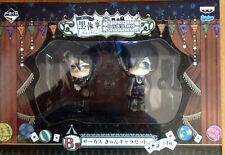 ANIME Kuroshitsuji Black Butler Ciel Phantomhive Sebastian·Mich Kuji Figure NIB