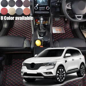For Renault Koleos 2017 2018 2019 RHD Car floor mat pad Auto carpets Pad Liner