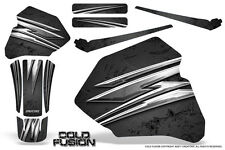 HONDA XR80 XR100 XR 80 100 1985-2000 CREATORX GRAPHICS KIT COLD FUSION BLACK