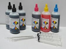 600ml Refill Ink Kit for HP Canon Brother Dell Epson Printer Cartridges NY