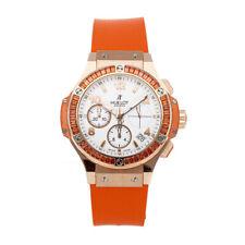 Hublot Big Bang Tutti Frutti Orange Automatic Strap Watch 341.PO.2010.LR.1906