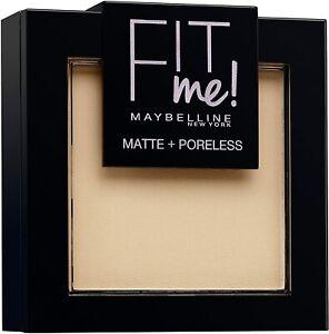 120 Classic Ivoire - Poudre Teint Compacte Fit Me Matte & Poreless - MAYBELLINE