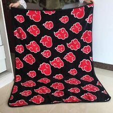 Naruto Red Cloud Anime Blanket Plush Bed Home Throw Sofa Blankets anime gift