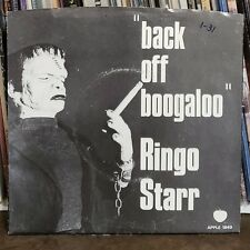 Ringo Starr Rock 45 Blindman / Back Off Boogaloo Apple 1849 Picture Sleeve