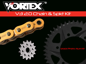 Honda CBR900RR 93-99 Vortex 520 Chain and Sprocket Kit 15-45 Tooth CKG6324