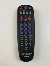 RCA SystemLink 4 Plus Universal Remote For 4 Devices DVD/AUX, CABLE, VCR, TV