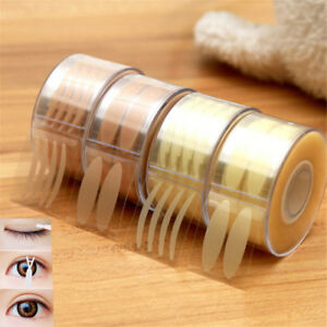 600pc Double Eyelid Tape Invisible Adhesive Eye Lift Strips Lace Stickers s1YC