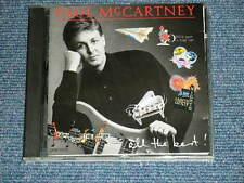 PAUL McCARTNEY BEATLES Japan 1987 1st Press CP36-5545 NM CD ALL THE BEST