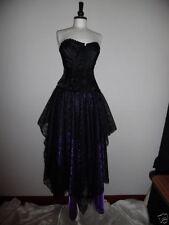 Full Length Satin Party Asymmetrical Skirts for Women