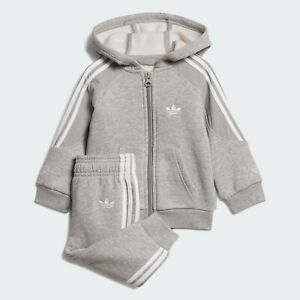 adidas Originals infant Outline hooded tracksuit. Various sizes!