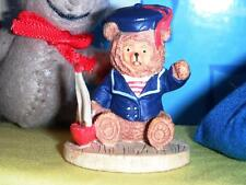 Vintage Nautical Sailor Teddy Bear fits Fisher Price Loving Family Dollhouse