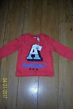 BABY BOYS LONG SLEEVE TOP NWT AGE 0-3 MONTHS