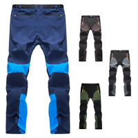 Men's Fast Dry Pants Trousers with Multi-Pockets for Outdoor Hiking Fishing