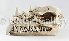 Decorative Dragon Skull Ornament Head Sculpture For Home or Garden Display Gift