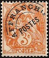 """FRANCE PREOBLITERE TIMBRE STAMP N° 39 """" TYPE BLANC 3C ORANGE """" NEUF xx TTB"""
