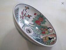 Peacock wash basin bird wash basin peacock bathroom sink hand painted porcelain