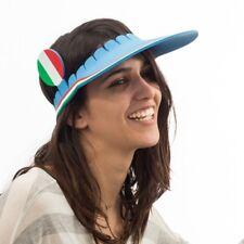 Visière avec décor aux couleurs de l'Italie - Casquette supporter