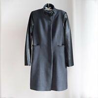 *AS NEW* Wayne Cooper Coat Grey/Black – Size 10 *RRP$200*