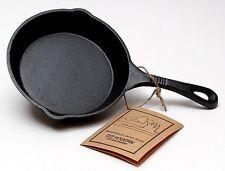 "Old Mountain Cast Iron Preseasoned Skillet 6.5"" Diameter Cookware"