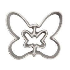 Rosette-Iron Mold, Cast Aluminum 2 in 1 Butterfly Shape