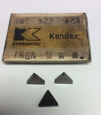 Kennametal TNG 322 K2S Carbide Insert QTY 8