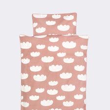Ferm Living Cloud Bedding Duvet Cover Set Colour Rose Size Junior 100cm x 140cm