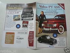 O265 FLYER BROCHURE DUTCH 2 PAGES,VOLVO PV 444 AUTO CAR VINTAGE OLDTIMER