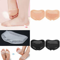 Gel Ball of Foot Insoles Forefoot Pads Breathable Cushion Pain Relief Pads