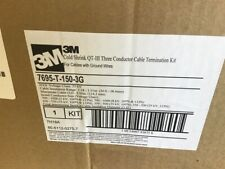 3M 7695-T-150-3G Kit Cold Shrink Qt-Iii Three Conductor Cable Termination Kit