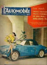 L'AUTOMOBILE 131 1957 TATRA 603 ISETTA VELAM MOCHET DECOLON VANWALL F1 BMW R50