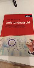 Juristendeutsch? von Roland Schimmel (Taschenbuch) 2020