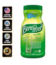 Benefiber Fiber Powder Supplement 100% Natural Easy Dissolve 190 Servings EXP