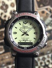 Gents Casio AD-300 Illuminator Divers Alarm Chrono Watch Dual Time 200m Japan