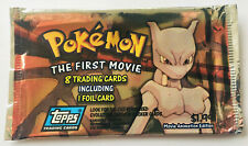 Pokemon TCG BOOSTER - MEWTU The First Movie Edition 1998 - TOPPS englisch, leer