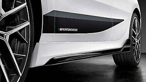 Genuine BMW F40 1 Series M Performance Side Skirts Set Pair 51192462600 / 01