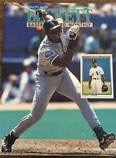 Beckett Baseball Monthly October 1991 Boston White Sox Frank Thomas