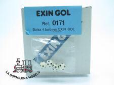 ED171 BLISTER PRECINTADO - EXIN GOL Ref.0171 BOLSA CON 4 BALONES - NUEVO - c167