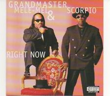 "Grandmaster Mele-Mel & Scorpio - ""Right Now"", CD neu, legendary Hip Hop"