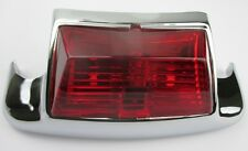 Rear OE Style Fender Tip with Light - Red for Harley FL Models