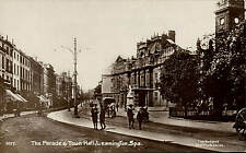Leamington. The Parade & Town Hall # 1017 in Bedford Series.