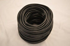 "SILICONE VACUUM HOSE 1/4"" (6MM) BLACK HI-PERFORMANCE TURBO RACING CUSTOM TUBING"