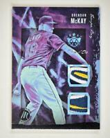 2020 Diamond Kings DK Materials Relic Masterpiece #DKM-BM Brendan McKay 1/1