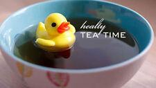 Floating T-Duck Loose Ceylon Tea Leaf Infuser Strainer Herbal Make Favorite Brew