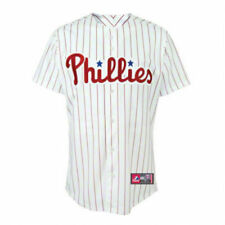 PHILADELPHIA PHILLIES YOUTH HOME REPLICA JERSEY NEW & OFFICIALLY LICENSED XL